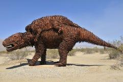 Dinosaure au parc national d'Anza Borrego Photo stock