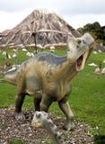 Dinosaure d'Oviraptor Images stock