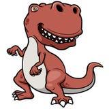 Dinosaure de bande dessinée illustration stock