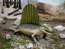 Dinosaure de Dimetrodon Photo libre de droits