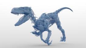 Dinosaure de robot Photo libre de droits