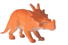 Dinosaure en plastique Images stock