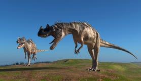 Le dinosaure Image libre de droits