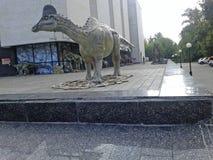 Dinosaure gris photographie stock libre de droits