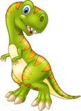 Dinosaure heureux de bande dessinée illustration de vecteur