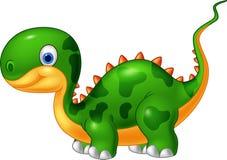 Dinosaure mignon de bande dessinée Photographie stock libre de droits