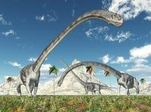 Dinosaure Omeisaurus Images stock