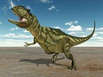 Dinosaure Yangchuanosaurus Images libres de droits
