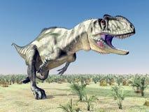 Dinosaure Yangchuanosaurus Image stock