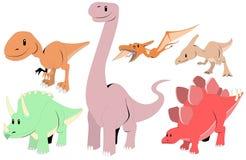 Dinosauri Fotografia Stock