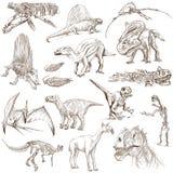 Dinosauri Fotografia Stock Libera da Diritti