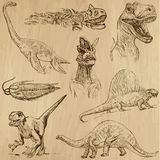 Dinosauri 1 Immagine Stock Libera da Diritti