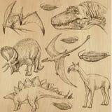 Dinosauri 4 Fotografie Stock