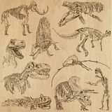 Dinosauri 5 Fotografie Stock Libere da Diritti
