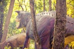 Dinosauri antichi Fotografie Stock Libere da Diritti