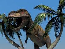 Dinosaurie royaltyfri illustrationer