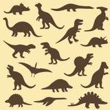 Dinosaurie djur Royaltyfria Bilder