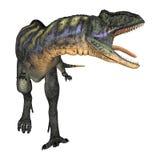 DinosaurieAucasaurus stock illustrationer