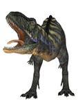 DinosaurieAucasaurus vektor illustrationer