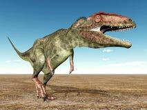 DinosaurieGiganotosaurus Arkivfoto