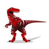 Dinosaurieillustration T-rex dinosaurieillustration Royaltyfri Fotografi
