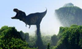 Dinosaurien royaltyfri illustrationer