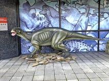 Dinosaurien arkivbilder