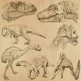 Dinosaurier 2 Fotografering för Bildbyråer