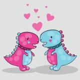 Dinosaurier 2 Stockbild