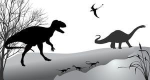 Dinosaurier Fotografering för Bildbyråer