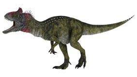 Dinosaurier Cryolophosaurus stock abbildung