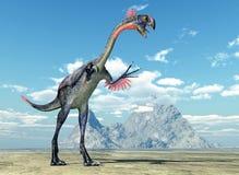Dinosaurier Gigantoraptor stock abbildung