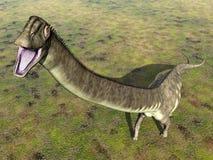 Dinosaurier Mamenchisaurus lizenzfreie abbildung