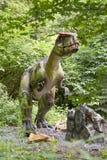 Dinosaurier - Monolofozaur stockfotos