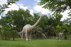 Dinosaurier-Museum Lizenzfreies Stockfoto
