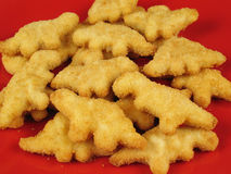 Dinosaurier-Nuggets 3 Stockfoto