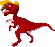 Dinosaurier Parasaurolophus-Karikatur Stockbild