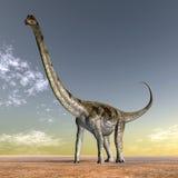 Dinosaurier Puertasaurus vektor abbildung