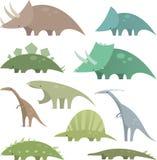 Dinosaurier stellte 2 ein Stockfotografie