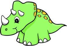 Dinosaurier-Vektor lizenzfreie abbildung