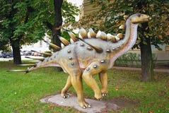 Dinosaurier in Warschau lizenzfreie stockfotografie