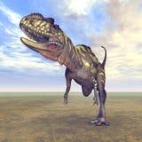 Dinosaurier Yangchuanosaurus vektor abbildung