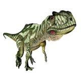 Dinosaurier Yangchuanosaurus stock abbildung