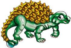 Dinosaurierabbildung Lizenzfreies Stockbild