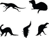 Dinosauriere. lizenzfreie abbildung