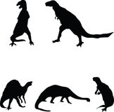 Dinosauriere. Stockfotografie