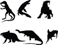 Dinosauriere. stock abbildung