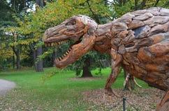 Dinosaurierkopf Lizenzfreie Stockbilder