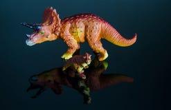Dinosauriermodell lizenzfreies stockbild