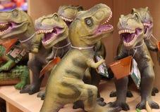 Dinosaurierzahlen Stockbilder